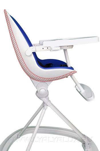 детский стульчик для кормления LYALYAUX анатомический изгиб
