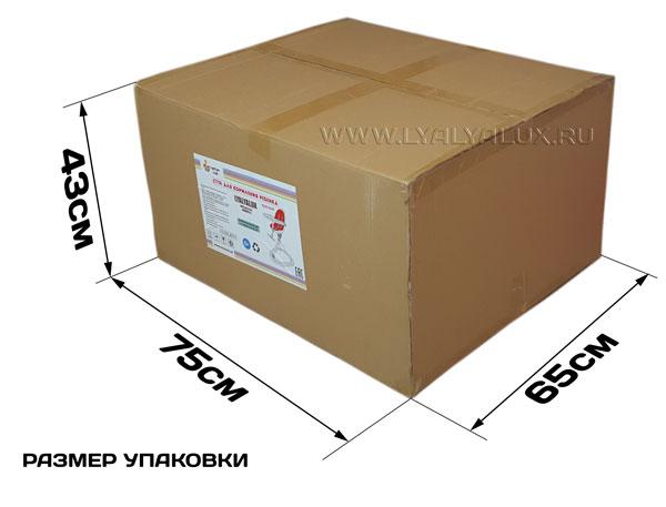 детский стульчик для кормления LYALYAUX размер упаковки