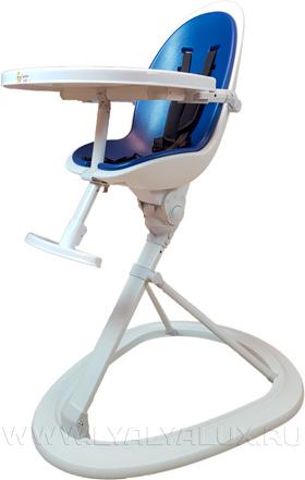 стульчик для кормления LYALYALUX синий