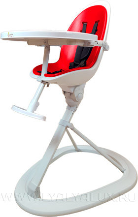 стульчик для кормления LYALYALUX красный