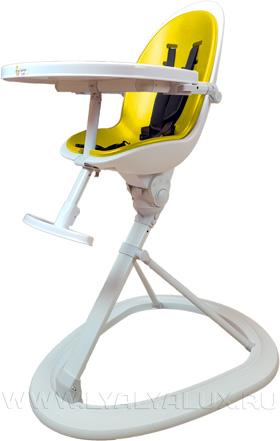 стульчик для кормления LYALYALUX желтый