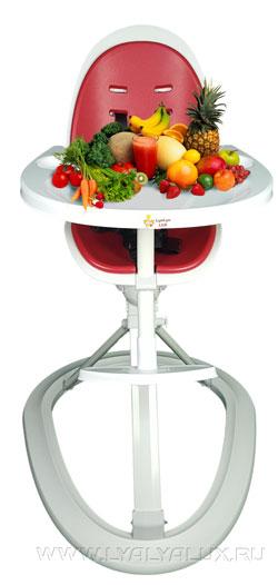 детский стульчик для кормления LYALYAUX пищевой пластик
