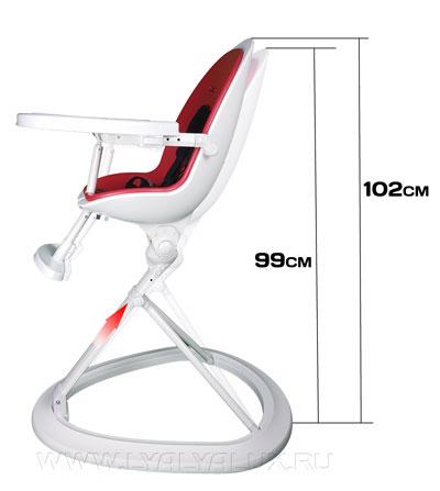 детский стульчик для кормления LYALYAUX изменение высоты