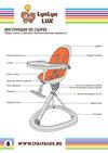 детский стульчик для кормления LYALYAUX инструкция страница 6