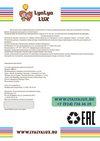 детский стульчик для кормления LYALYAUX инструкция страница 12