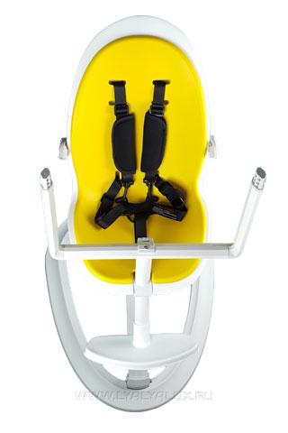 детский стульчик для кормления LYALYAUX пятиточечный ремень безопасности